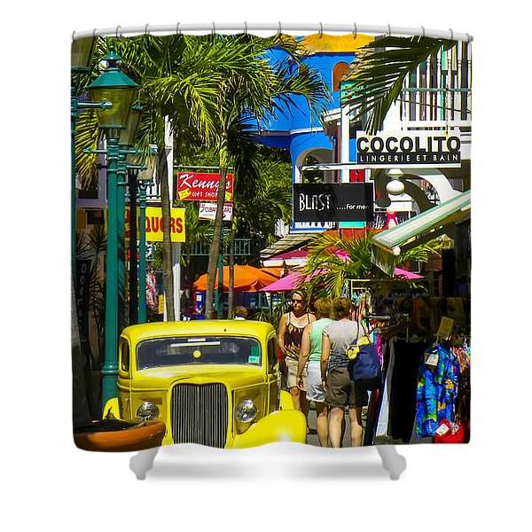 Philipsburg Shower Curtain