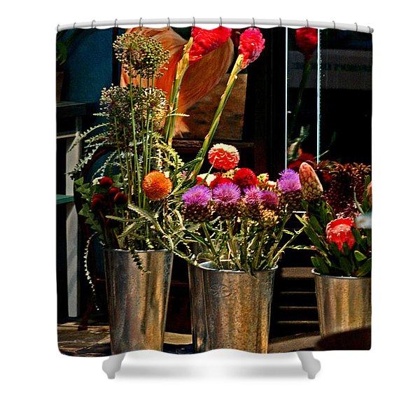 Phlower Vases Shower Curtain