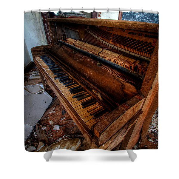 Piano Lessons Shower Curtain