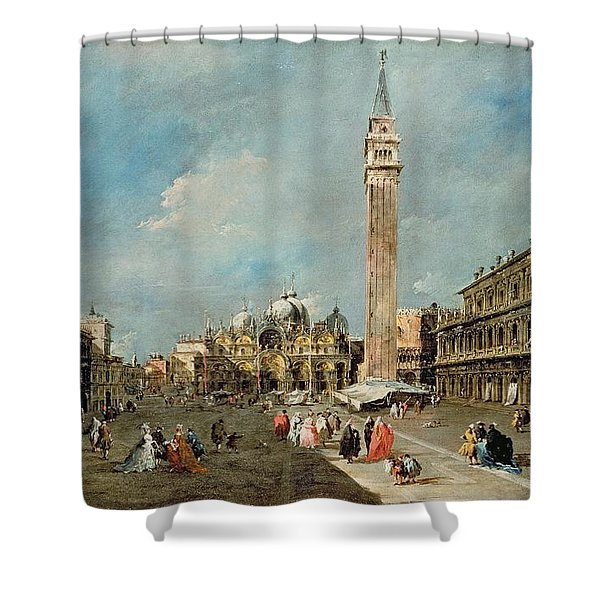 Piazza San Marco, Venice Shower Curtain