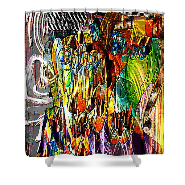 Picasso And Me Shower Curtain