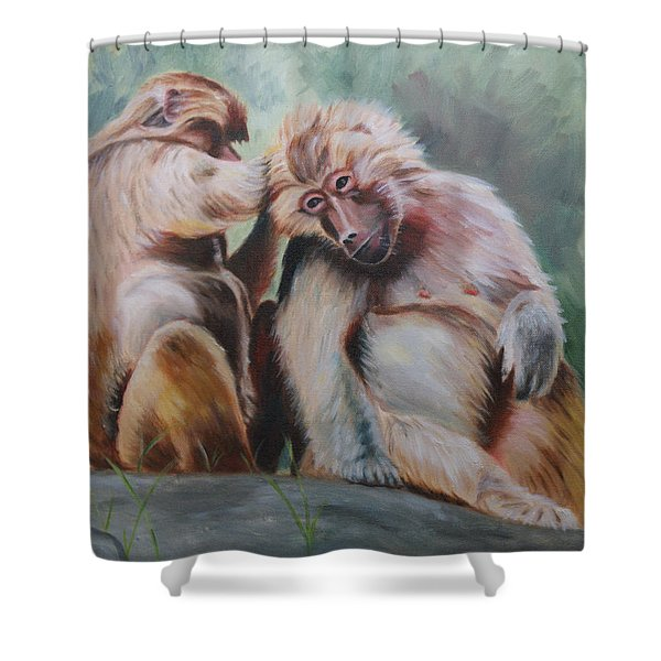 Pick Your Friends Carefully  Shower Curtain