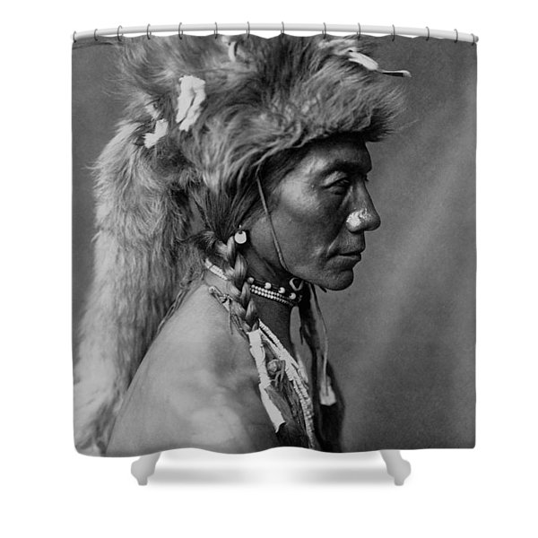 Piegan Indian Circa 1910 Shower Curtain