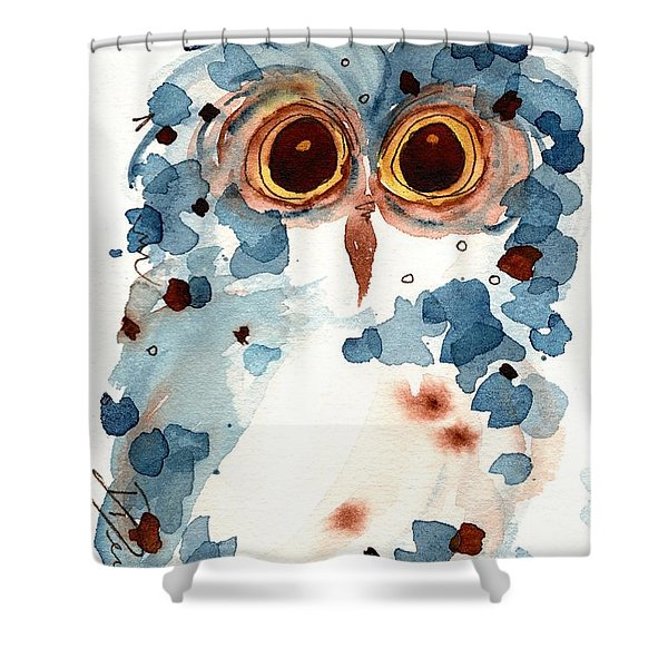 Pier 1 Owl Shower Curtain