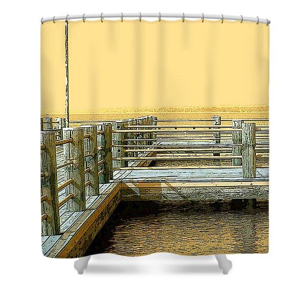 Pier 2  Image A Shower Curtain