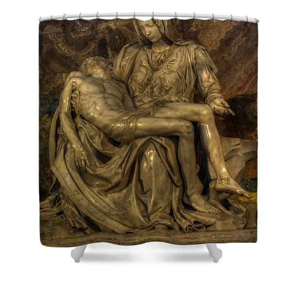 Pieta Shower Curtain