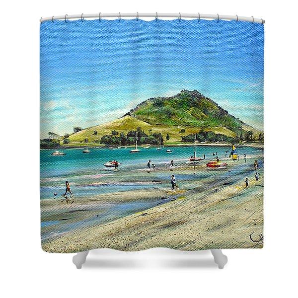 Pilot Bay Mt M 050110 Shower Curtain