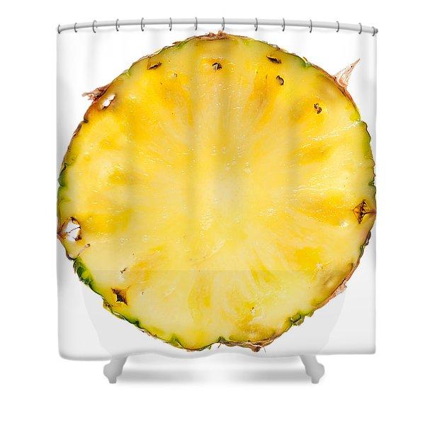 Pineapple Slice Shower Curtain