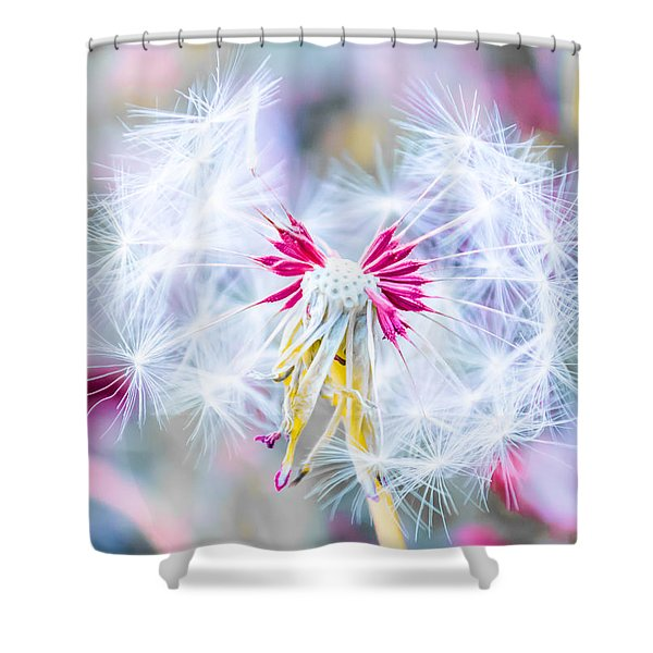 Magic In Pink Shower Curtain