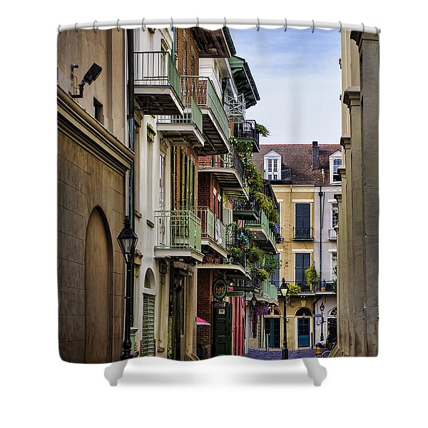 Pirates Alley Shower Curtain