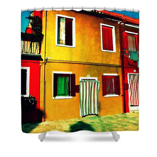 Pittoresco Villaggio Shower Curtain