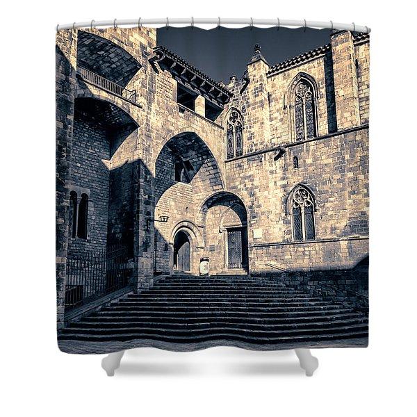 Placa Del Rei Shower Curtain
