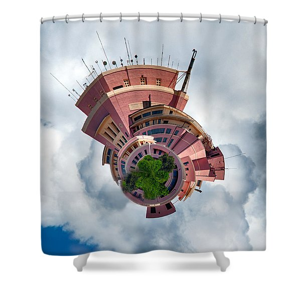 Planet Tripler Shower Curtain