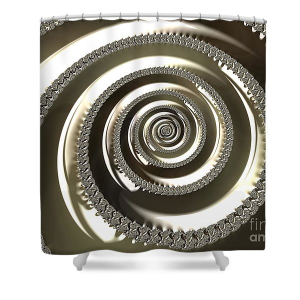 Platinum Shower Curtain