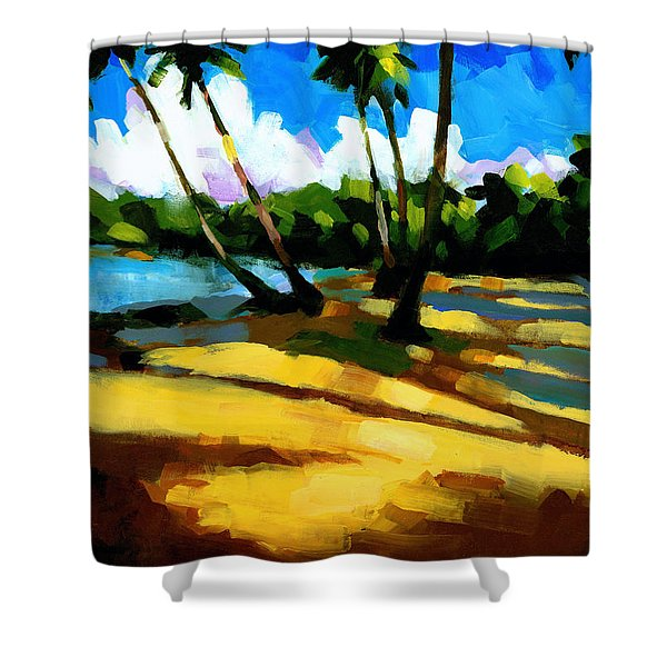 Playa Bonita 2 Shower Curtain