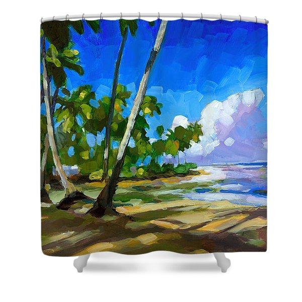 Playa Bonita Shower Curtain