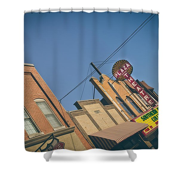 Plaza Theatre Shower Curtain
