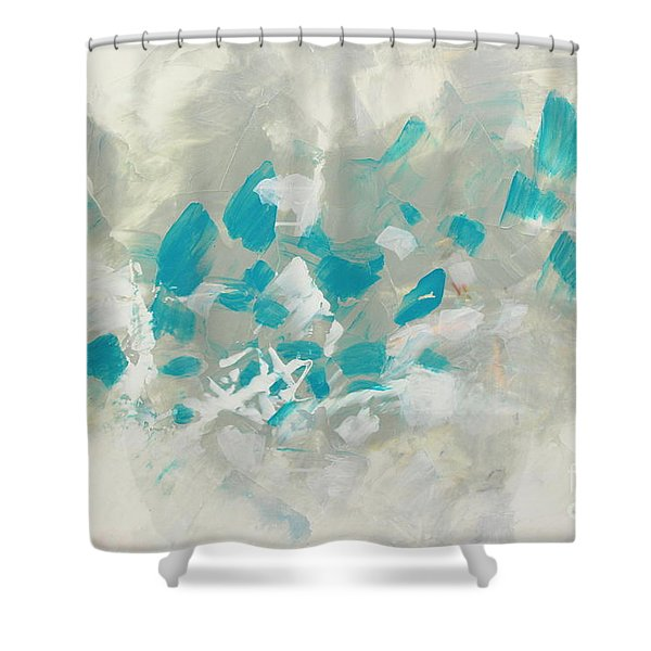 Pleased Shower Curtain