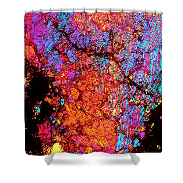 Plume Of Color Shower Curtain