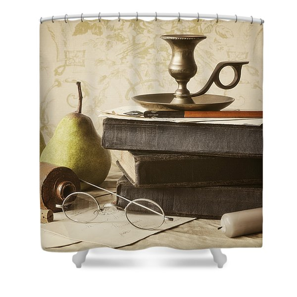 Poet's Corner Shower Curtain