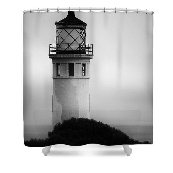 Pointe Vincente Lighthouse Shower Curtain