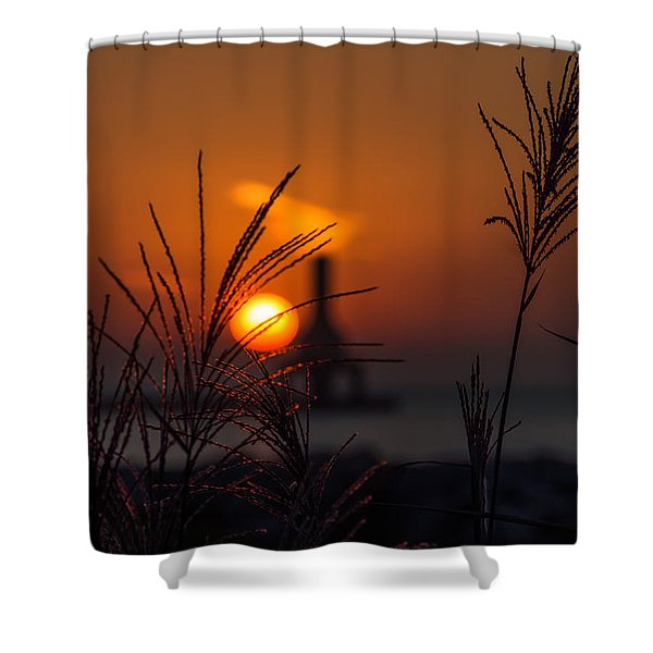 Points Of Light Shower Curtain
