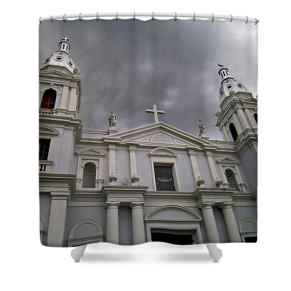 Ponce Cathedral Shower Curtain