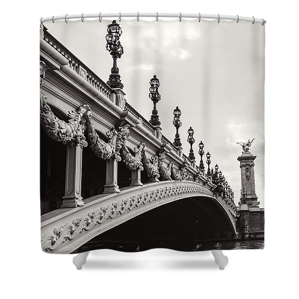 Pont Alexandre IIi Shower Curtain