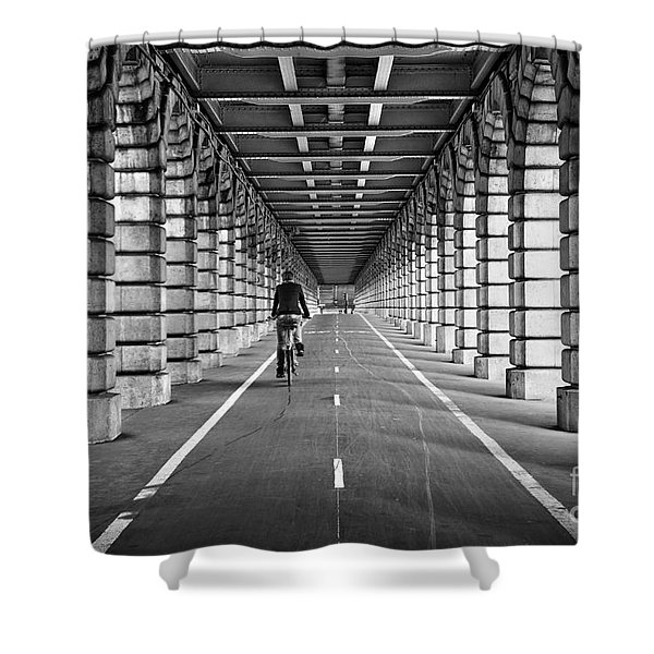 Pont De Bercy Shower Curtain