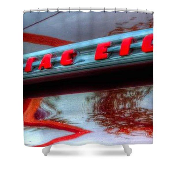Pontiac Eight 14714 Shower Curtain