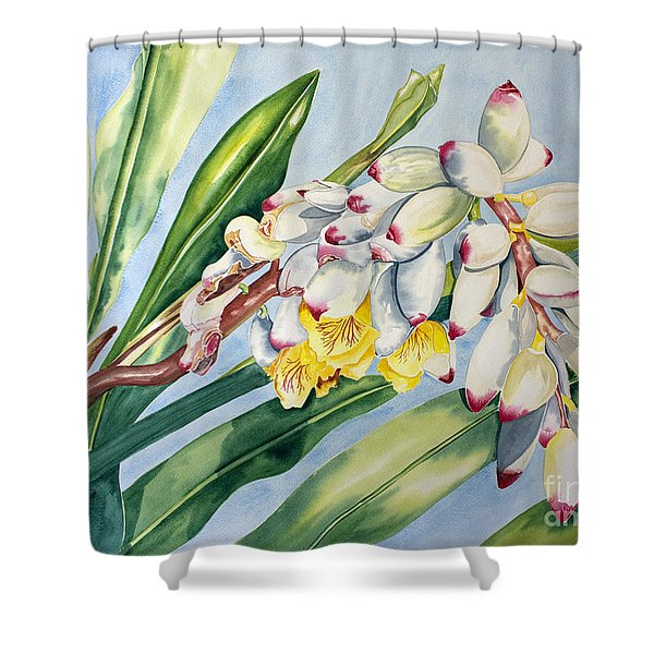 Poppin Out IIi Shower Curtain