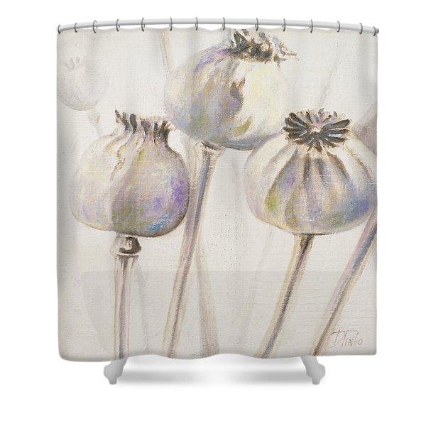 Poppy Seeds I Shower Curtain