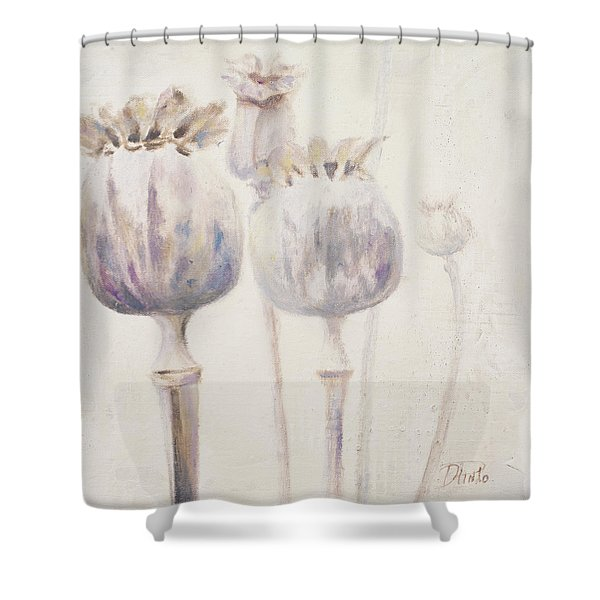 Poppy Seeds II Shower Curtain