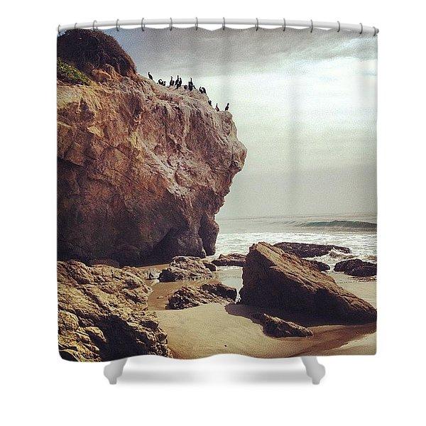 Popular Rock Shower Curtain
