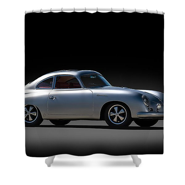 Porsche 356 Outlaw Shower Curtain