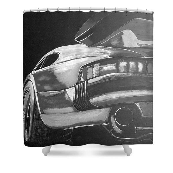 Porsche Turbo Shower Curtain