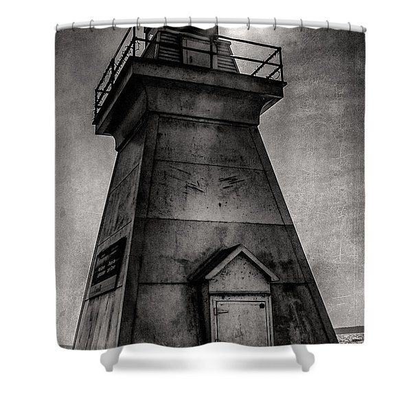 Port Dover Lighthouse Shower Curtain