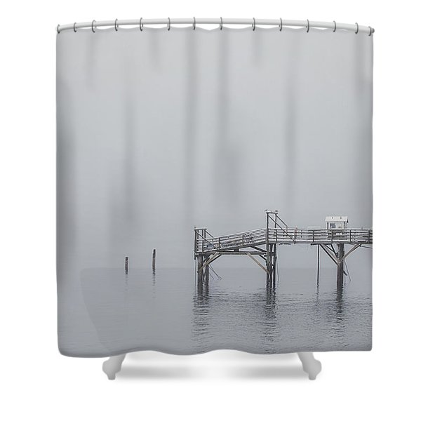 Port Of Mystery Shower Curtain