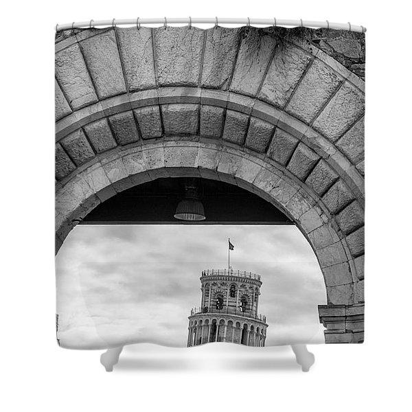Porta Di Pisa Shower Curtain