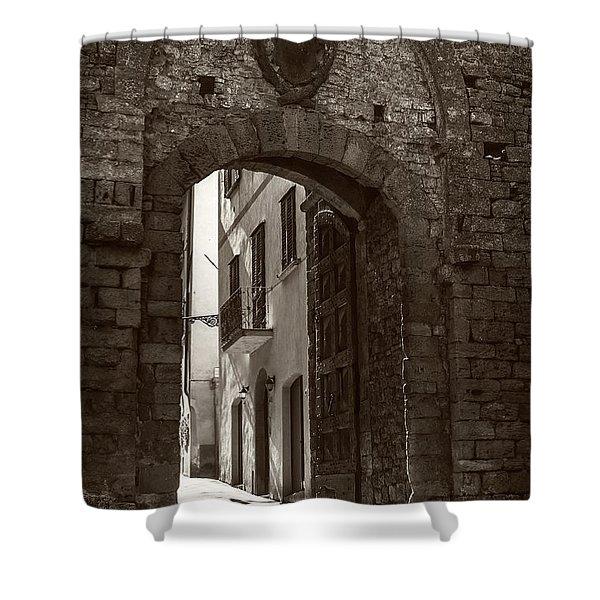 Porta Florentina Shower Curtain