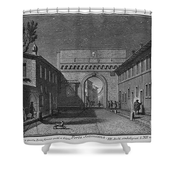 Porta Settimiana Shower Curtain
