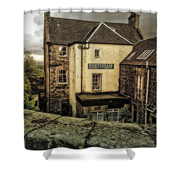 The Portcullis Shower Curtain