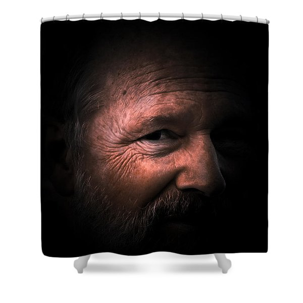 Portrait #1 Shower Curtain