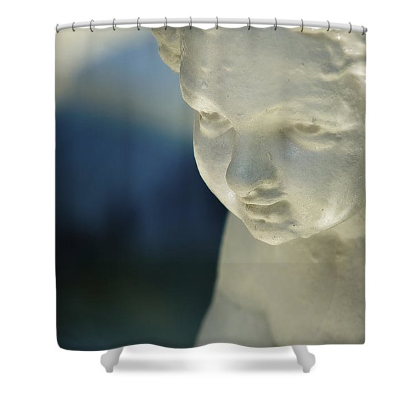 Portrait Of A Cherub Shower Curtain