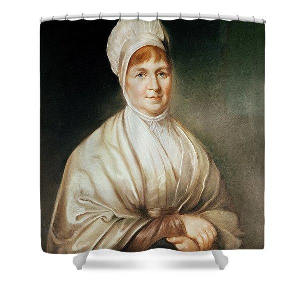 Portrait Of Elizabeth Fry 1780-1845 Shower Curtain