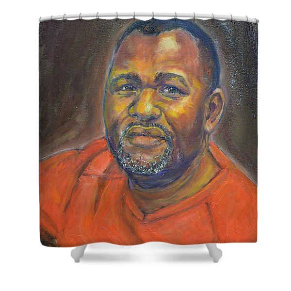 Portrait Of Felly Shower Curtain
