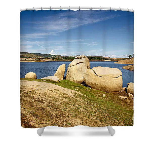 Portugal Countryside Shower Curtain