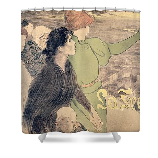 Poster For La Fronde Shower Curtain