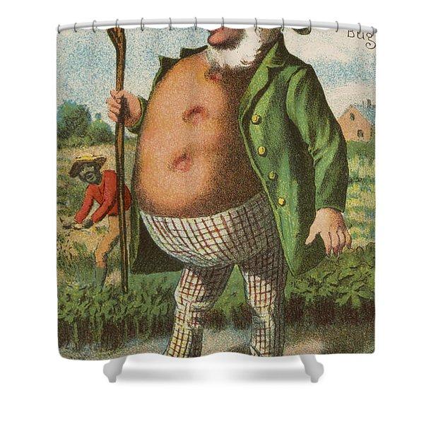 Potato Bug Shower Curtain