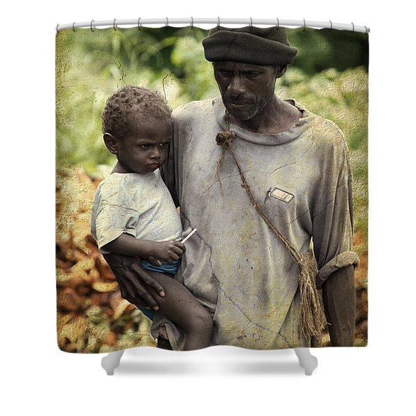 Poverty Shower Curtain